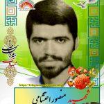 شهید منصور احتشامی
