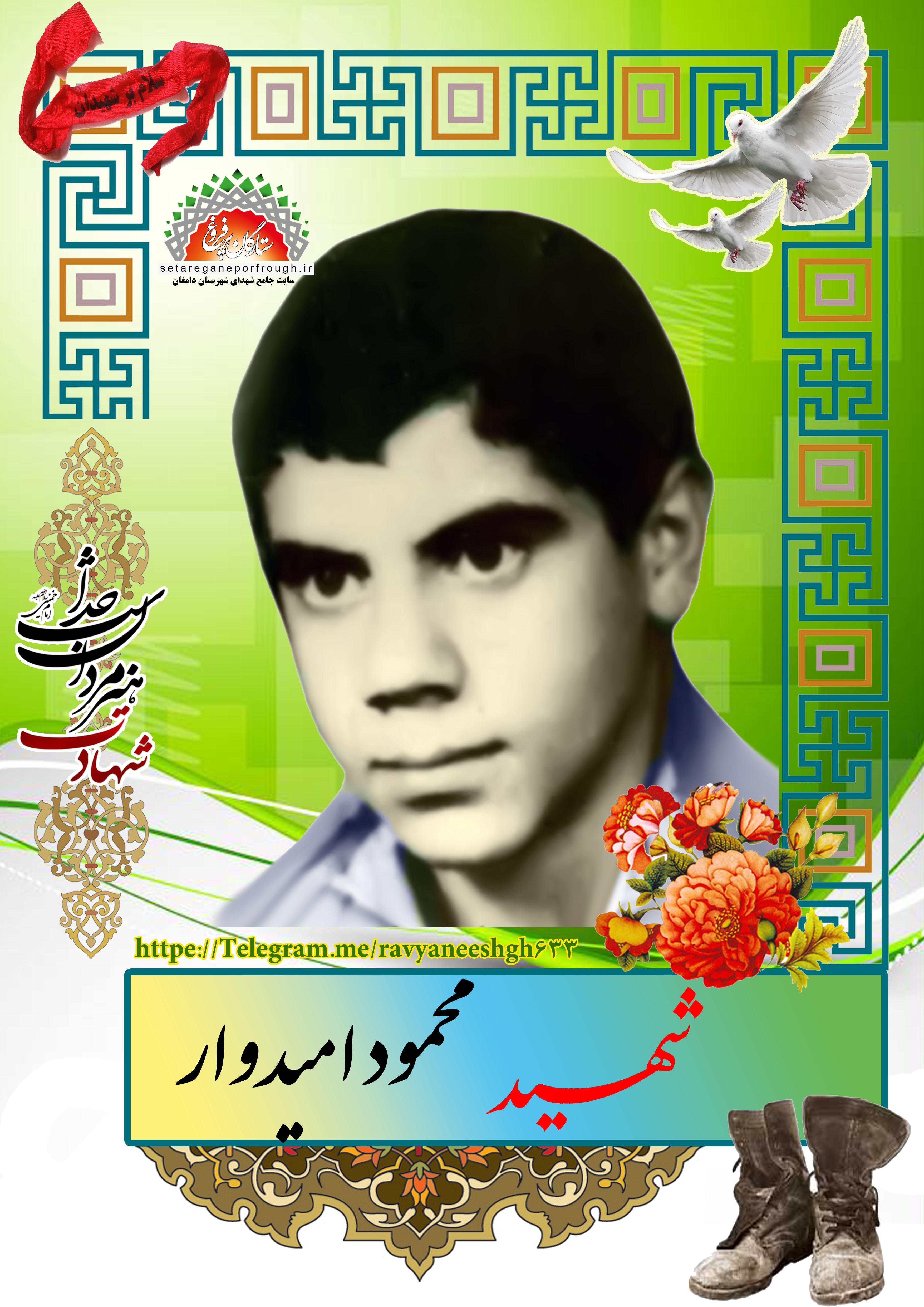 شهید محمود امیدوار