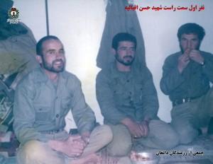 حضور رزمندگان شهرستان دامغان در جبهه ۳
