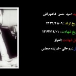 کلیپ شهید سید حسن شاهچراغی نماینده مردم دامغان