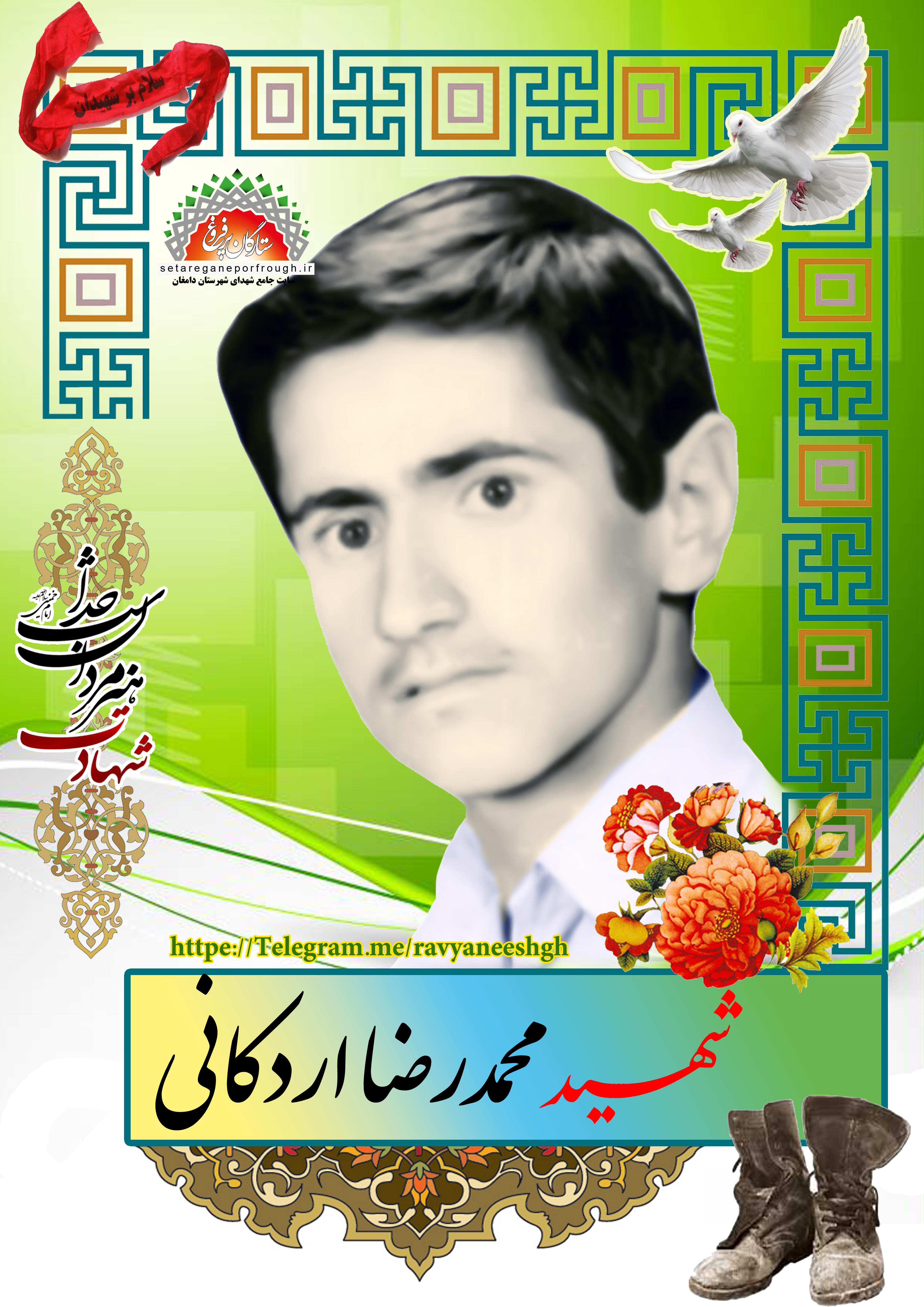 شهید محمدرضا اردکانی