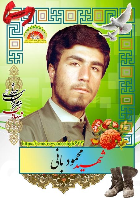 شهید محمود بانی