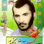 شهید سید رضا حسینی پور