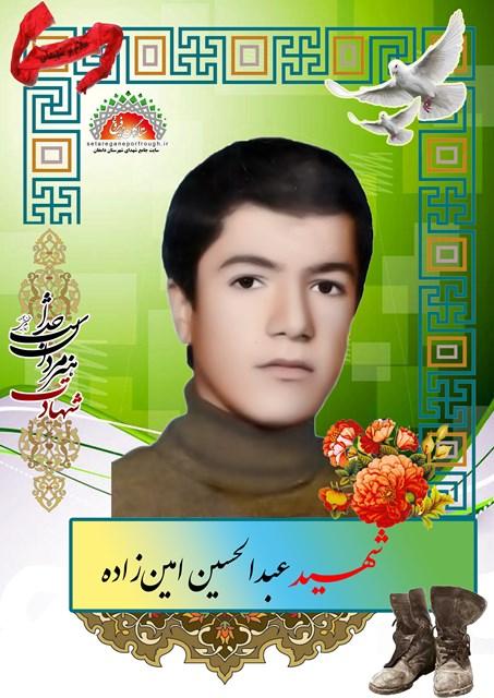 شهید عبدالحسین امین زاده