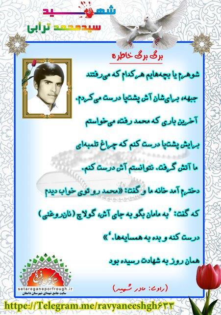 خاطرات شهید سید محمد ترابی