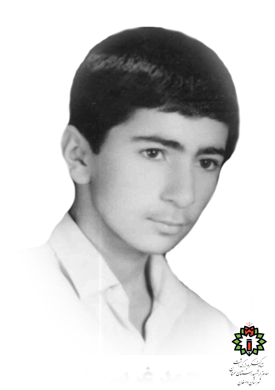 شهید محمد قریب بلوک