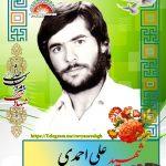 شهید علی احمدی